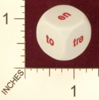 Dice : MINT19 KOPLOW NORWEGIAN WORDS FOR NUMBERS 02