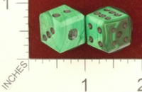 Dice : MINT25 UNKNOWN SYNTHETIC MALACHITE 01