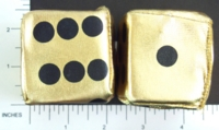 Dice : FOAM GOLD 01