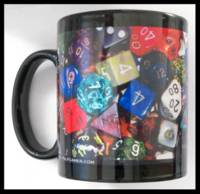 Dice : THINGS PULP GAMER DOT COM 02 COFFEE CUP