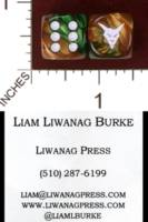 Dice : MINT32 CHESSEX CUSTOM FOR LIWANAG PRESS 01