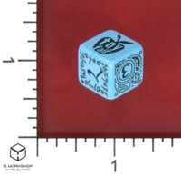 Dice : MINT55 Q WORKSHOP PROMO NEW YORK TOY FAIR