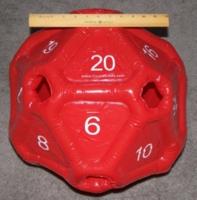 Dice : MINT20 CRYSTAL CASTE INFLATABLE D20 01
