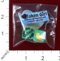 Dice : MINT38 TOKEN GIRL QUACK DUCK