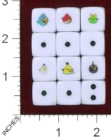 Dice : MINT39 BILL FORD ANGRY BIRDS