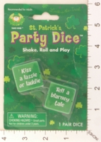 Dice : MINT18 TAKE ONE SAINT PATRICKS PARTY DICE 01