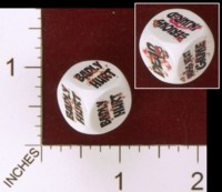 Dice : MINT31 MADRID ALL STARS 2012  BLOOD BOWL  DEAD DICE 01