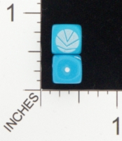 Dice : D6 OPAQUE ROUNDED SOLID CHESSEX 03