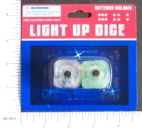 Dice : MINT7 D6 LIGHT UP DICE