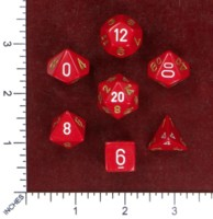 Dice : MINT50 CHESSEX FLASH