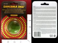 Dice : MINT31 SANGOMA DICE 03