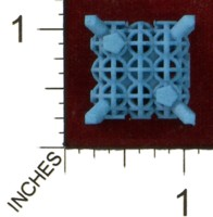 Dice : MINT43 SHAPEWAYS MCTRIVIA D6 GRID DIE 16 12
