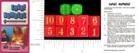 Dice : WOOD D6 PETER PAN PLAYTHINGS SHAKE NUMBERS 01
