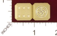 Dice : MINT19 ACE PRECISION SWASTIKA 01