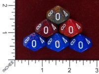 Dice : MINT46 CHESSEX D10 SPECKLED