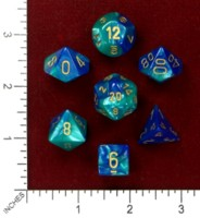 Dice : MINT46 CHESSEX 2015 POLY COLORS 03
