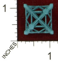 Dice : MINT43 SHAPEWAYS MCTRIVIA D6 GRID DIE 14 12