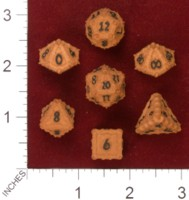 Dice : MINT33 SHAPEWAYS AVANDIUS DRAGON DICE SET 01