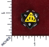 Dice : MINT50 AROC GAMING DEATHLY HALLOWS
