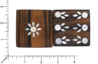 Dice : MINT59 UNKNOWN WOOD MOTHER OF PEARL