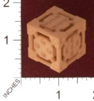 Dice : MINT30 SHAPEWAYS DANMST3K SCIFI DIE 01