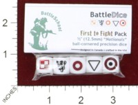 Dice : MINT44 BATTLESCHOOL BATTLEDICE NATIONALS FIRST TO FIGHT PACK