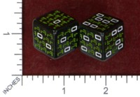 Dice : MINT48 18TH FLOOR GAMES MATRIX DICE