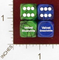 Dice : MINT25 CHESSEX VELVET COLOR REFERENCE MISTAKES 01