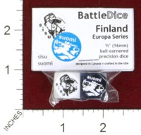Dice : MINT44 BATTLESCHOOL BATTLEDICE EUROPA SERIES FINLAND