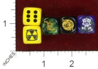 Dice : MINT44 CHESSEX CUSTOM FOR JAMIE CHAMBERS METAMORPHOSIS ALPHA RPG