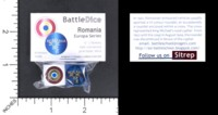 Dice : MINT56 BATTLESCHOOL BATTLEDICE EUROPA SERIES ROMANIA
