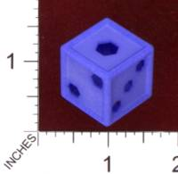 Dice : MINT29 SHAPEWAYS MCTRIVIA D6 GRID DIE 07 06