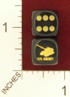 Dice : MINT22 CHESSEX FOR JSPASSINTHRU US ARMY TANK 01