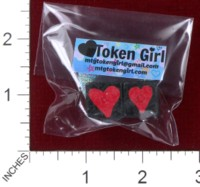Dice : MINT38 TOKEN GIRL HEARTS
