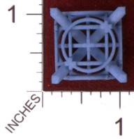 Dice : MINT29 SHAPEWAYS MCTRIVIA D6 GRID DIE 12 04