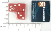 Dice : MINT13 OPAQUE ROUNDED SOLID GAMESTATION FOUNDATION9