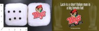 Dice : FOAM3 TONYS PIZZA