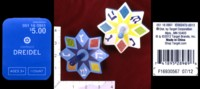 Dice : MINT34 TARGET CORPORATION STARBURST DREIDELS 01
