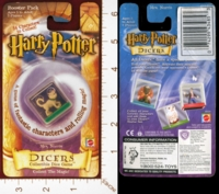 Dice : MINT25 MATTEL HARRY POTTER DICERS MRS NORRIS