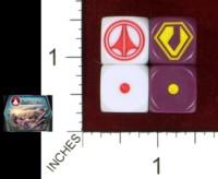 Dice : MINT42 PALLADIUM BOOKS ROBOTECH TACTICS UEDF ZENTRADI