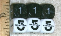 Dice : NON NUMBERED UNKNOWN BABYLON 5 01