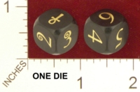 Dice : MINT21 UNCONVENTIONAL DICE BRASS ANKH 01