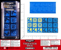 Dice : MINT54 GAMES WORKSHOP WARHAMMER TZEENTCH