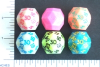 Dice : D30 OPAQUE SHARP SOLID ARMORY CHAMELEON