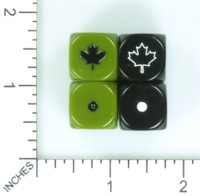 Dice : MINT55 DICE OF WAR CANADA