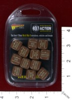 Dice : MINT39 WARLORD GAMES BOLT ACTION ORDER DICE 06