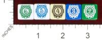 Dice : MINT43 TINDERBOX ENTERTAINMENT DICE EMPIRE SERIES 1 LEAGUES 20K