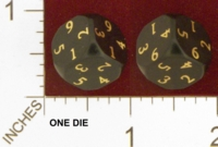 Dice : MINT23 UNCONVENTIONAL DICE D6 READ D4 STYLE 01