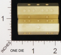 Dice : MINT18 ACE PRECISION BRASS PIPPED 01