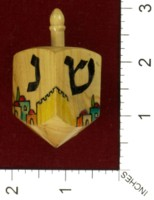 Dice : MINT43 UNKNOWN DREIDEL HAND MADE